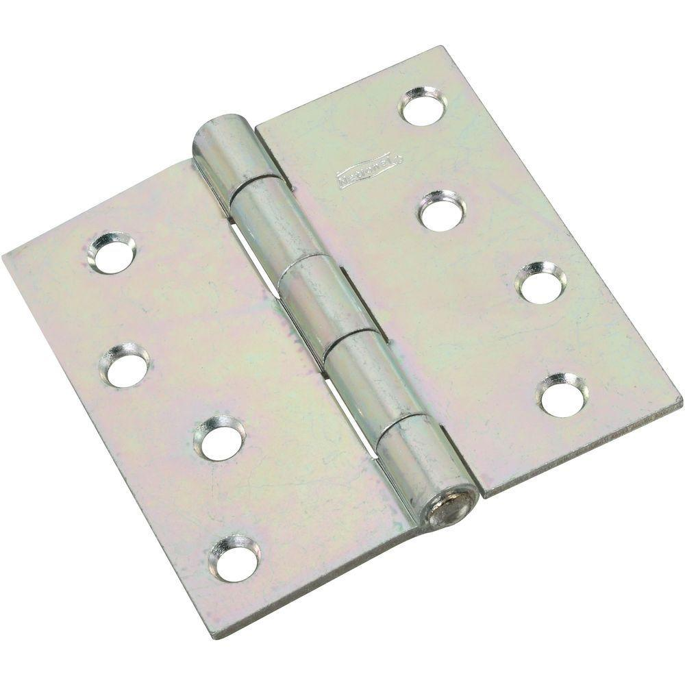 National Hardware 4 in. Non-Removable Pin Hinge