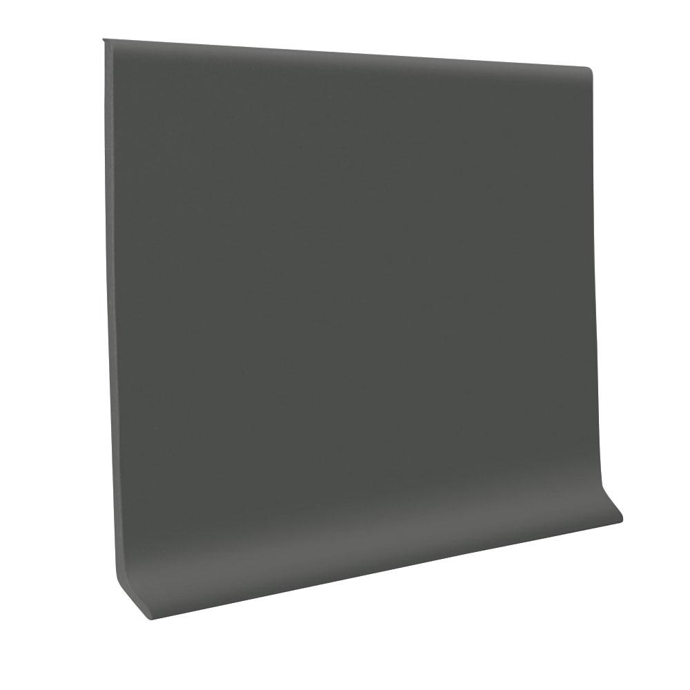 Charcoal 4 in. x 120 ft. x 1/8 in. Vinyl Wall