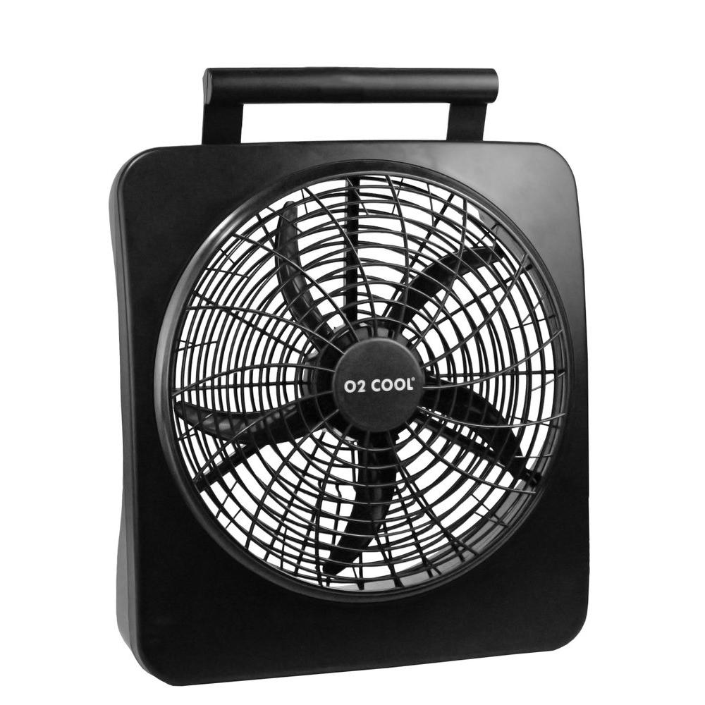 Battery Operated Fans : O cool in portable fan the home depot