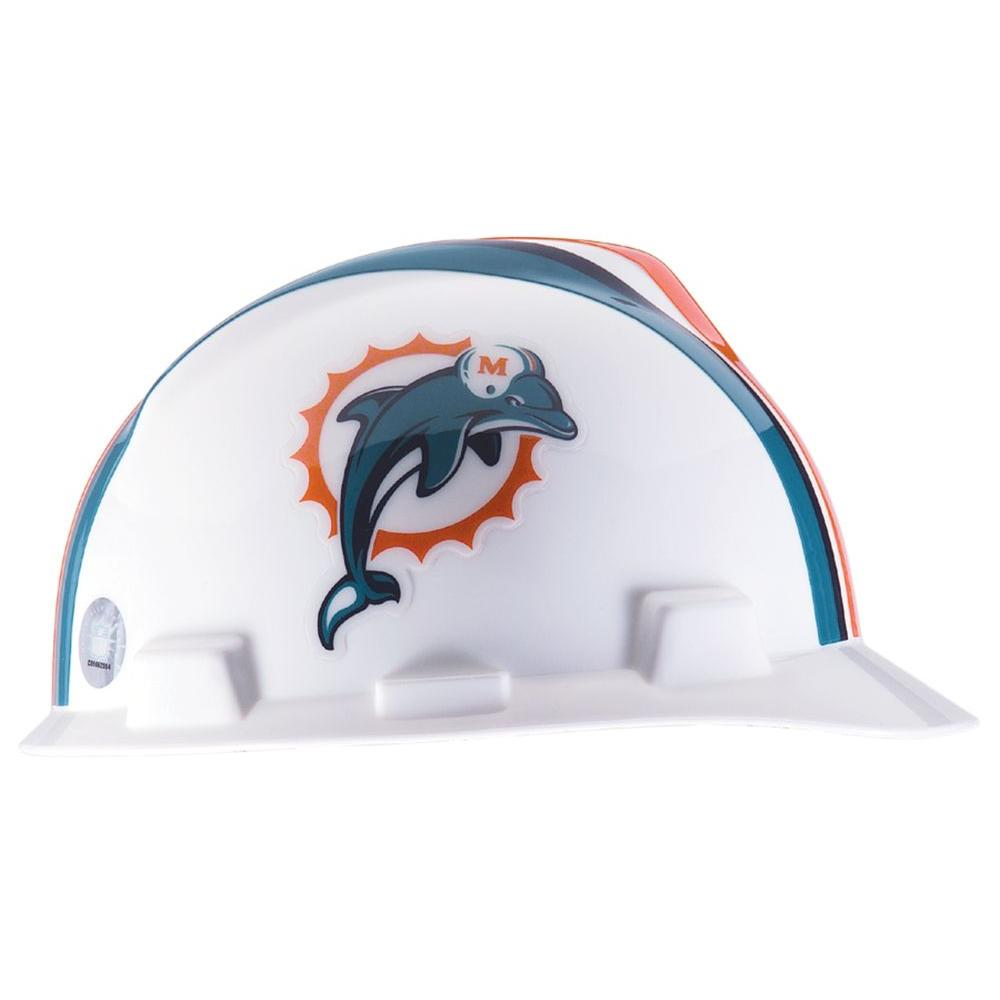 null Miami Dolphins NFL Hard Hat