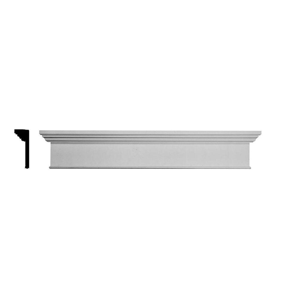 Ekena Millwork Traditional 1 in. x 58 in. x 7-1/4 in.