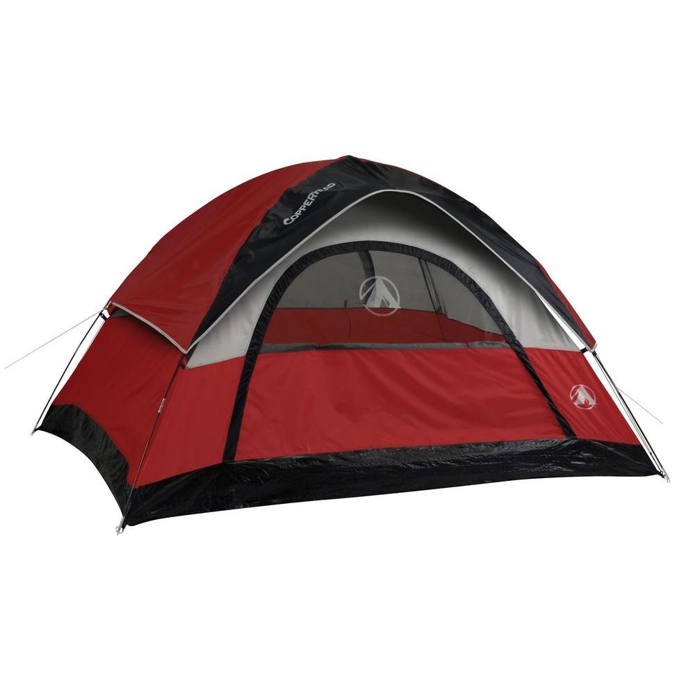 4 Person Copperhead 9 ft. x 7 ft. Dome Tent