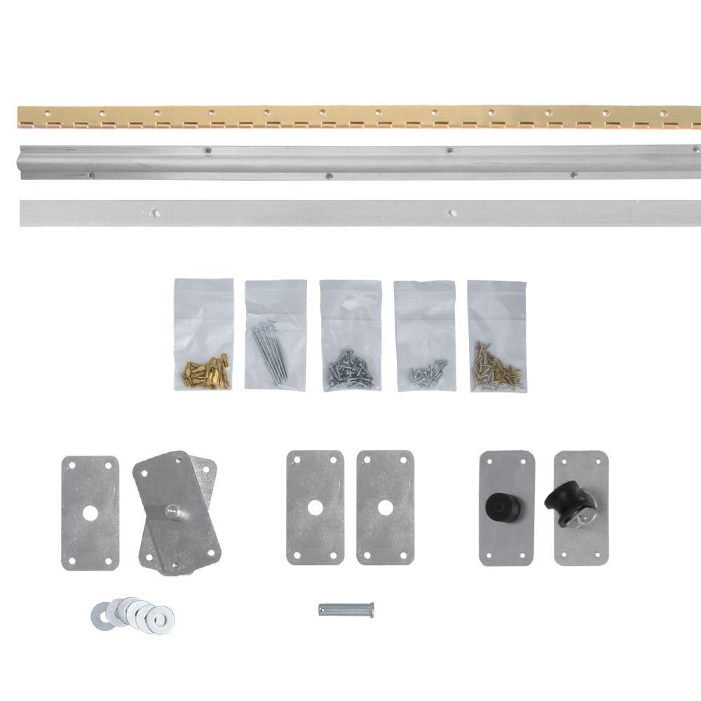 InvisiDoor Bi-fold Closet Door Hardware Kit-ID.BFHARDWAREKIT - The Home Depot