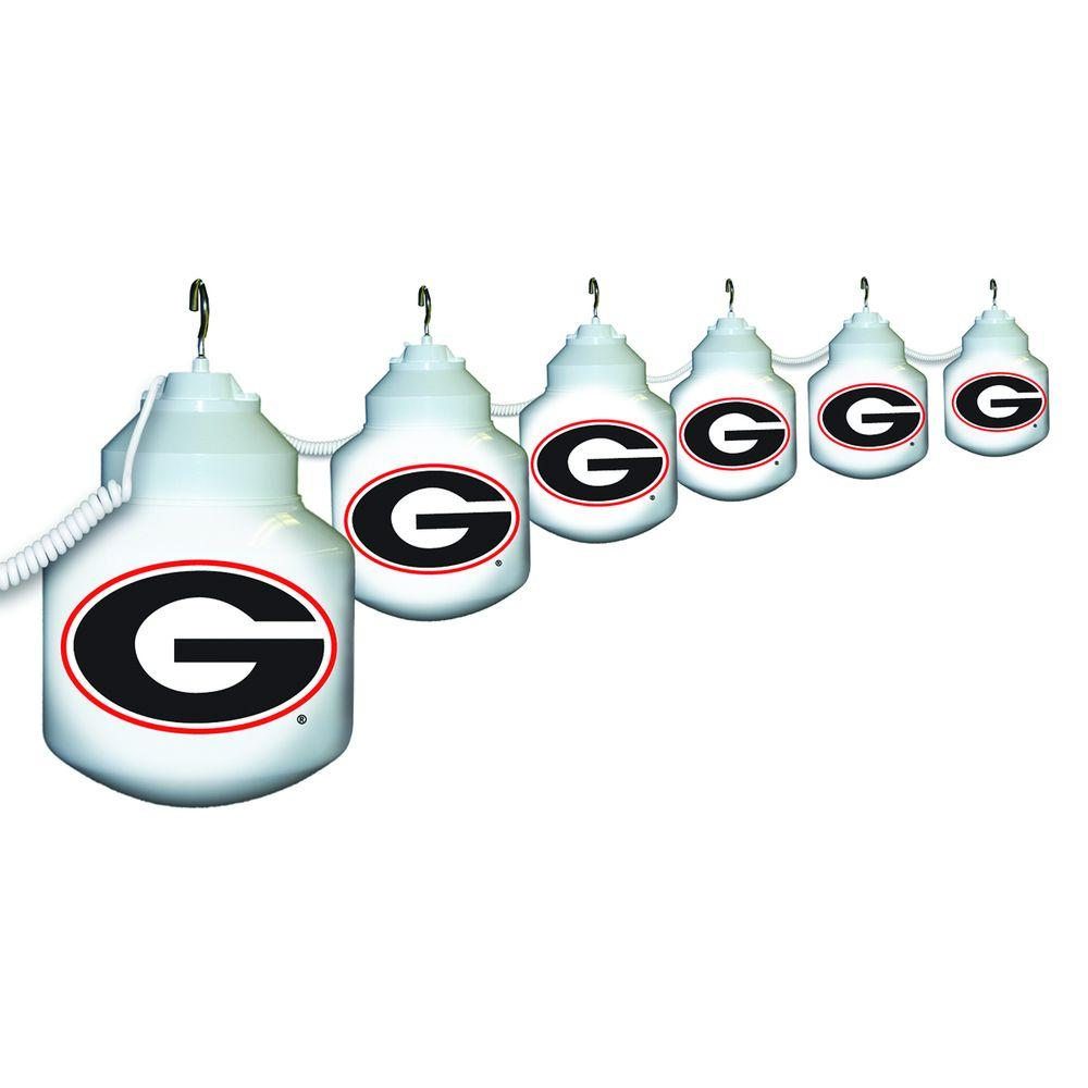 Polymer Products 6-Light Outdoor University of Georgia String Light