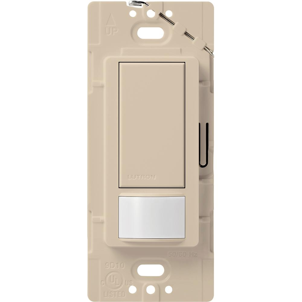 Maestro 2 Amp Single Pole Occupancy Sensing Switch, Taupe