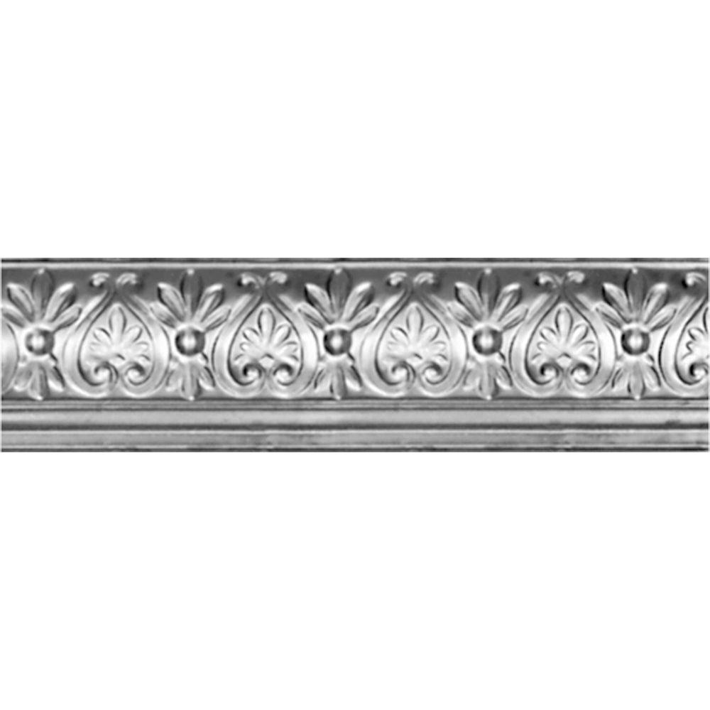 6-5/8 in. x 4 ft. x 6-1/4 in. Clear Lacquer Steel