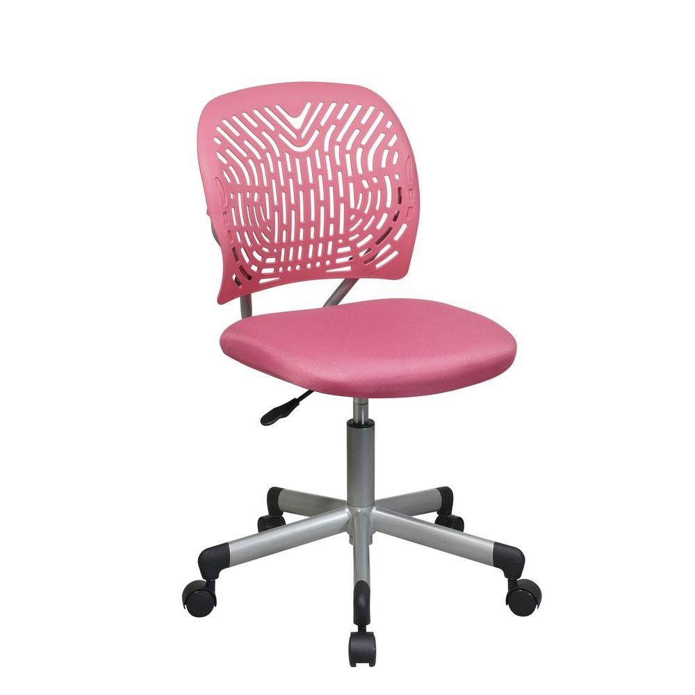 Revv Hot Pink Office Chair
