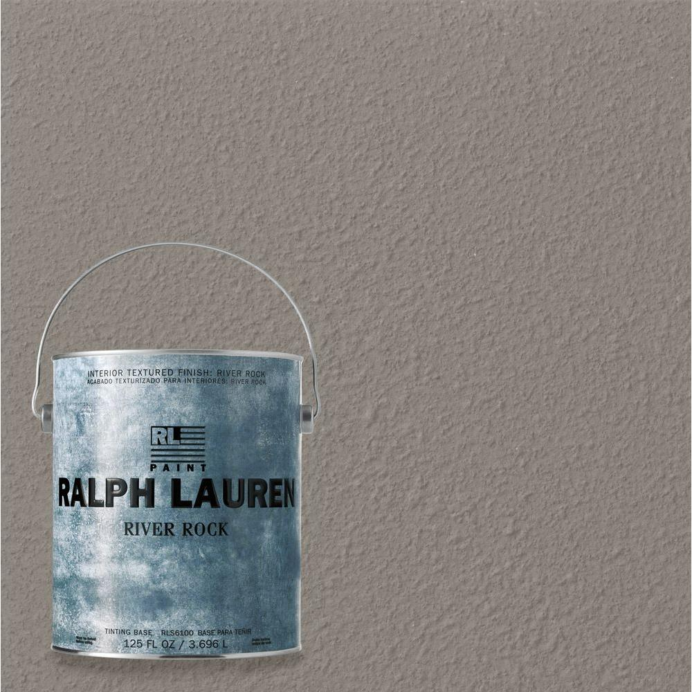 Faux Finish Wall Paint: Ralph Lauren Paint 1-gal. Grand Wash River Rock Specialty Finish Interior Paint RR111