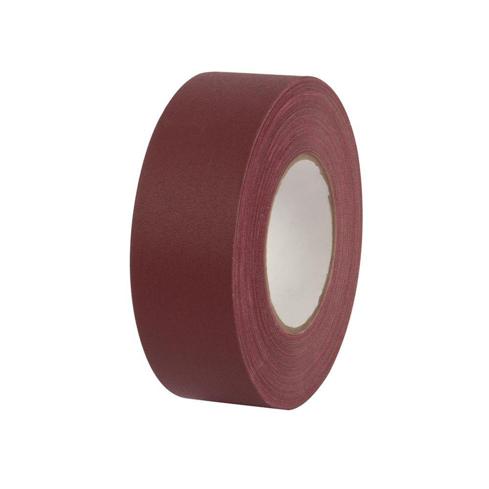 Pratt Retail Specialties 2 in. x 55 yds. Burgundy Gaffer Industrial Vinyl Cloth Tape (3-Pack)
