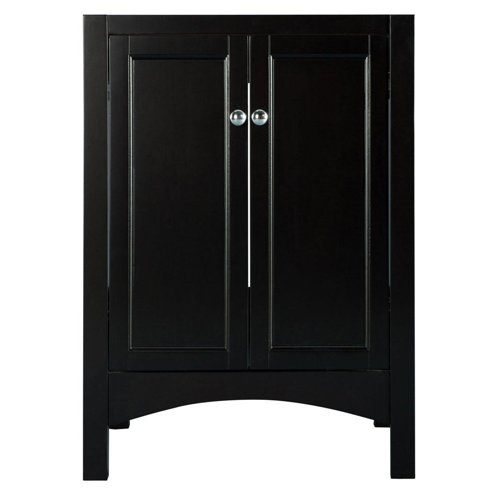 Home Decorators Collection Haven 24 in. W x 22 in. D x 34 in. H Vanity Cabinet Only in Espresso