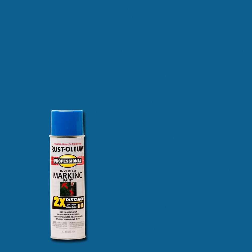 Rust Oleum Professional 15 Oz Gloss Safety Green Spray Paint Case Of 6 7533838 The Home Depot