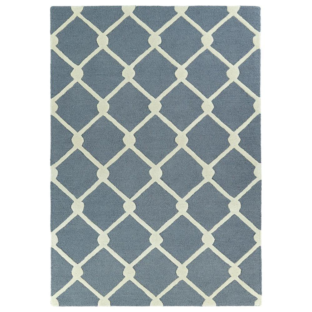 Kaleen Trends Grey 2 ft. x 3 ft. Area Rug