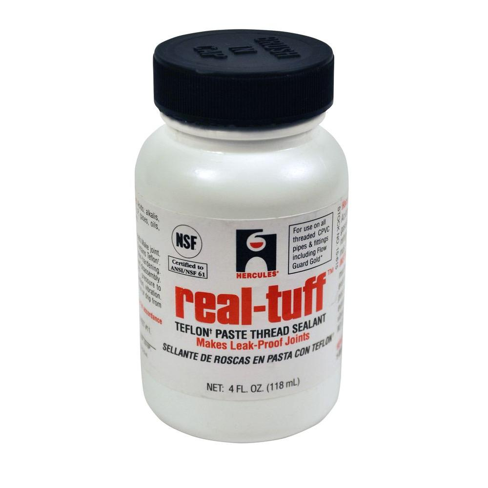 Hercules 4 oz. Real Tuff Thread Sealant-156152 - The Home Depot