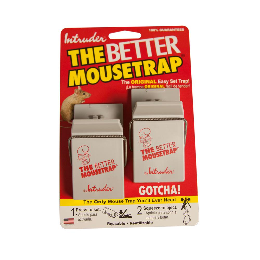 Intruder The Better Mousetrap (2-Pack)-16000 - The Home Depot