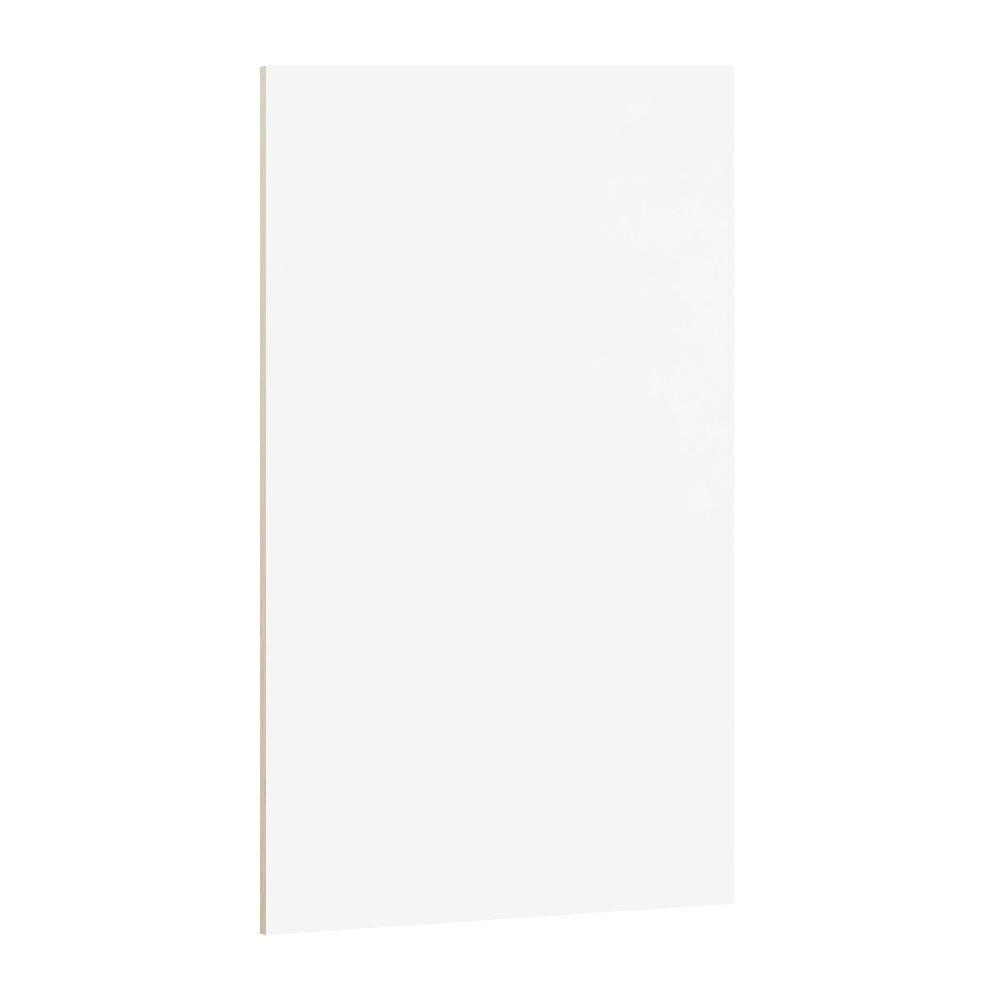 19-3/4x47-1/2x1/4 in. Linen Flush-Fit End Panel in White