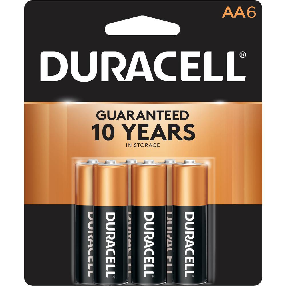 Coppertop Alkaline AA Battery (6 per Pack)