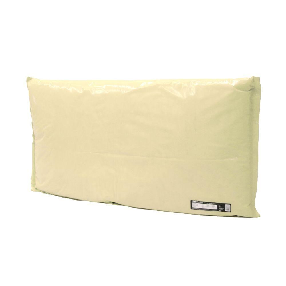 Dekorra 48 in. L x 24 in. H Small Fiberglass Encapsulated Tan Plastic Insulation Pouch