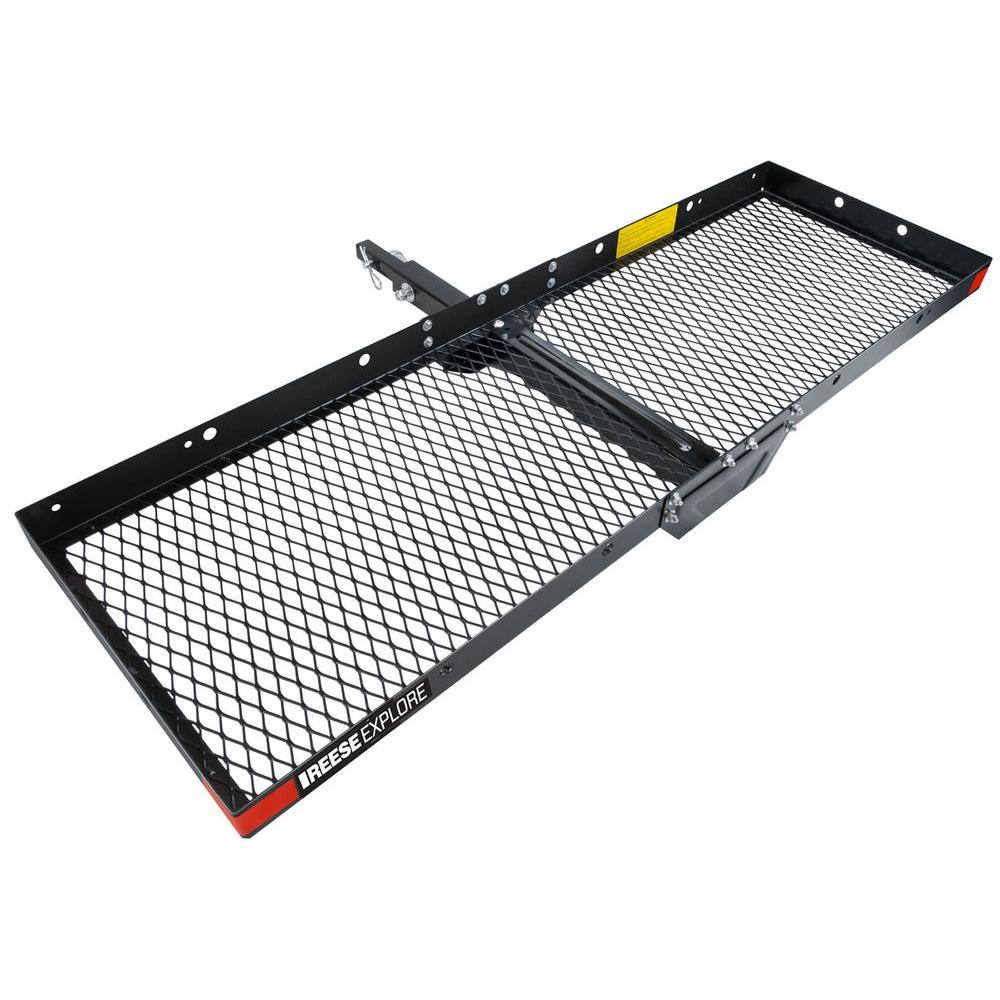 Reese 500 Lb Cargo Tray Steel Hitch Mount 1041500 The