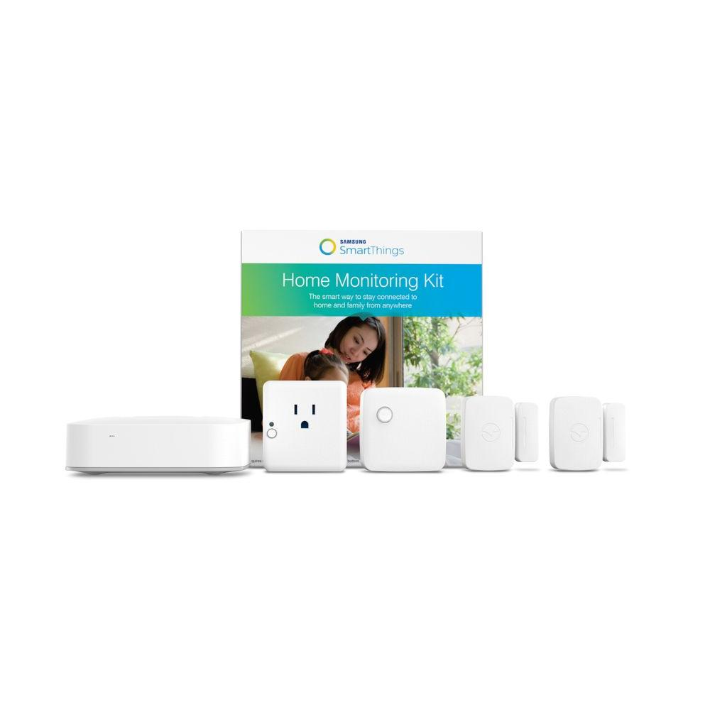 Samsung SmartThings Home Monitoring Kit-F-MON-KIT-1 - The Home Depot