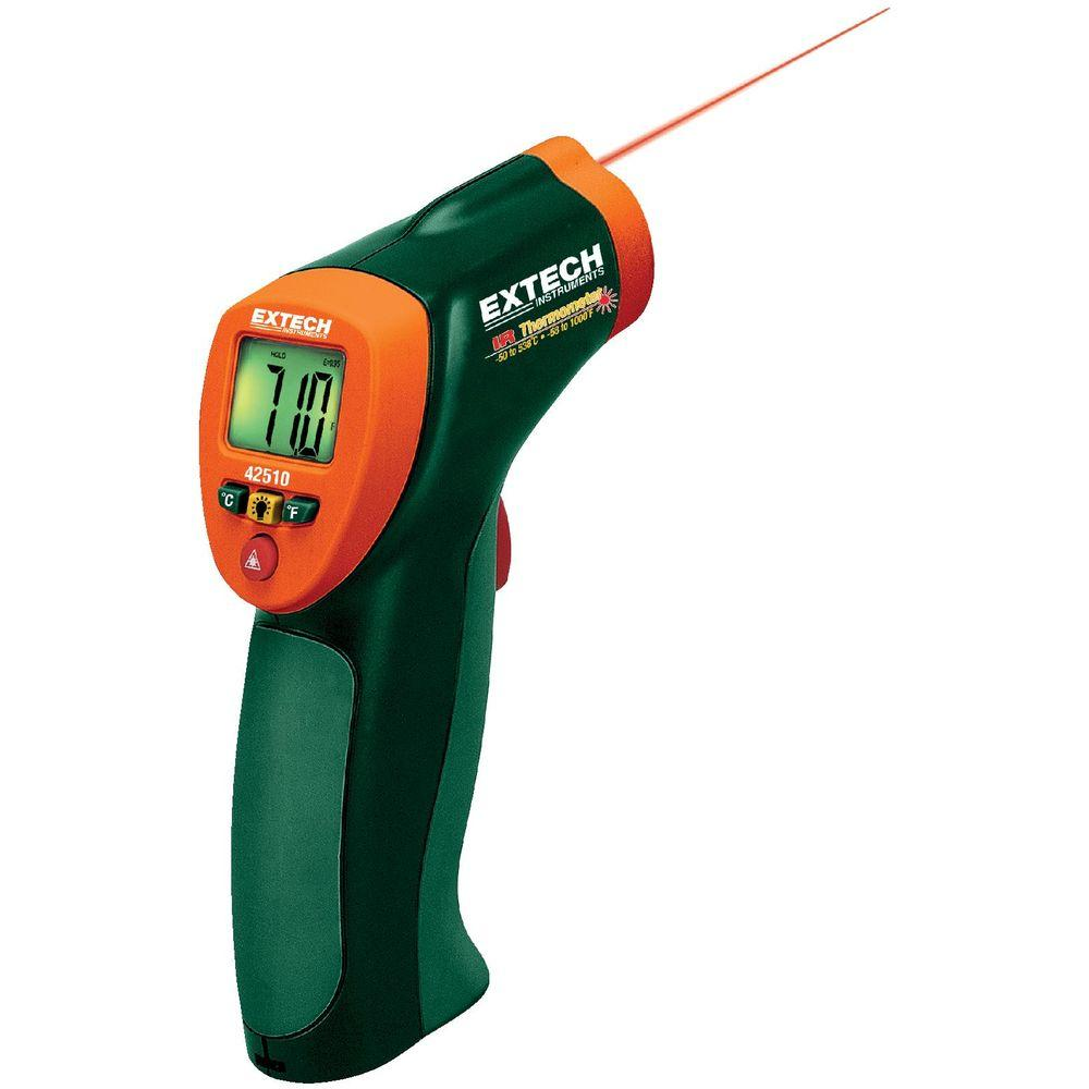 Extech Instruments Wide Range IR Thermometer-42510 - The Home Depot