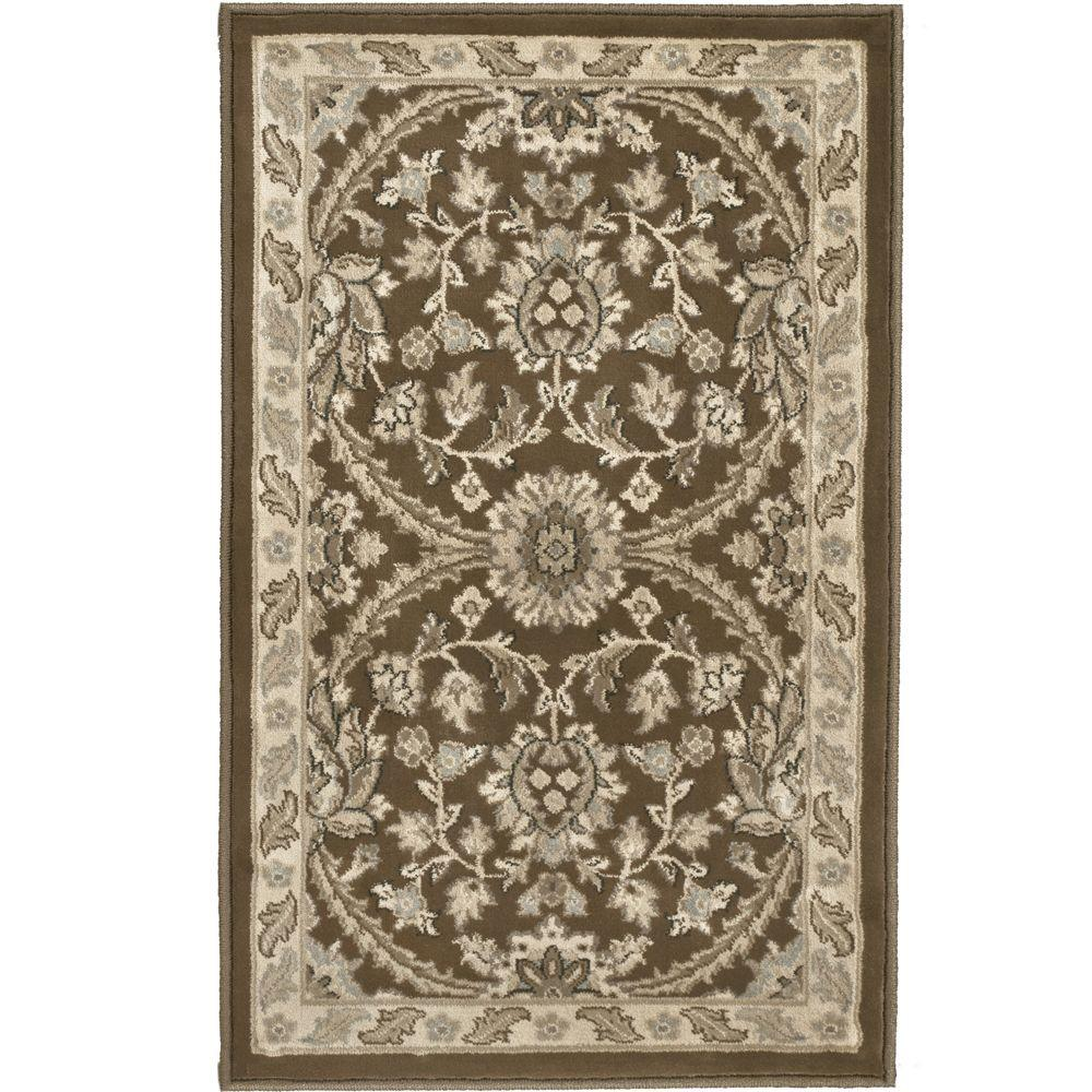 Orian Rugs Fabris Birch Brown 1 ft. 11 in. x 3 ft. 3 in. Accent Rug