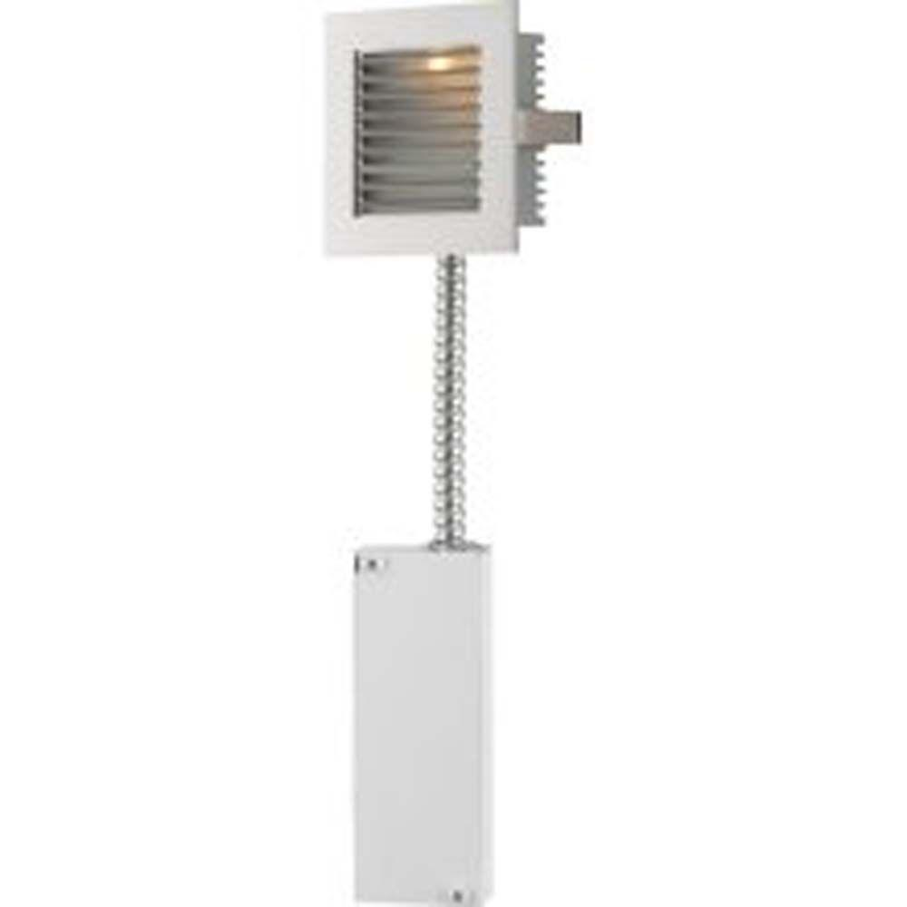 Filament Design Spectra 1-Light White LED Step Light-DISCONTINUED