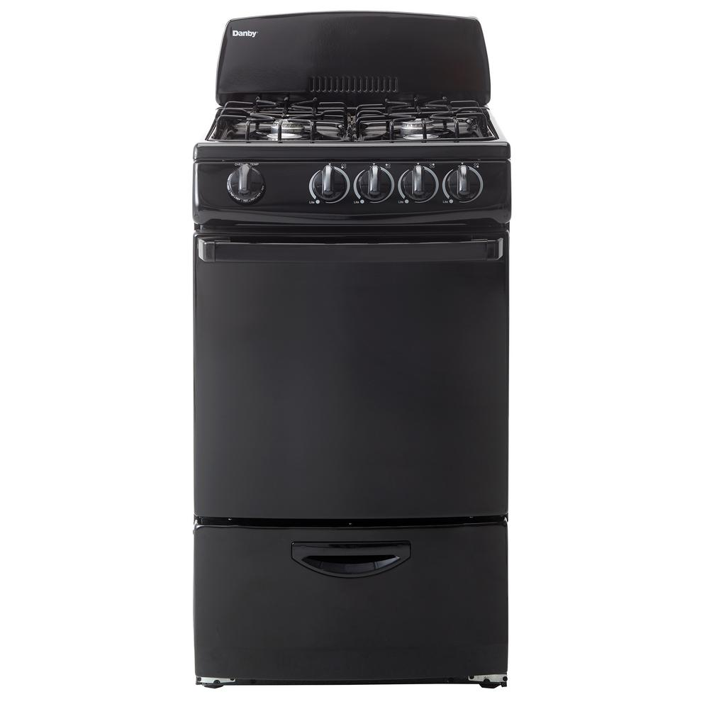 20 in. 2.4 cu. ft. Gas Range with Manual Clean Oven