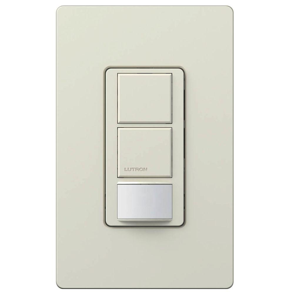 Lutron Maestro 6-Amp Single Pole Dual Circuit Occupancy Sensing Switch -