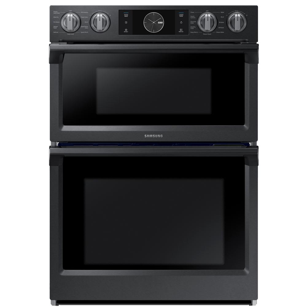 Samsung 30 in. Electric Dual Convection and Steam Cook Fl...