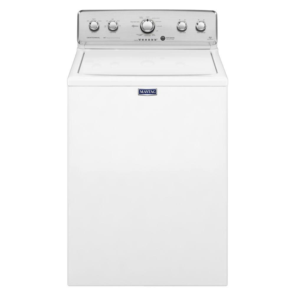 Maytag Centennial 4.3 cu. ft. High-Efficiency Top Load Washer in White-MVWC555DW