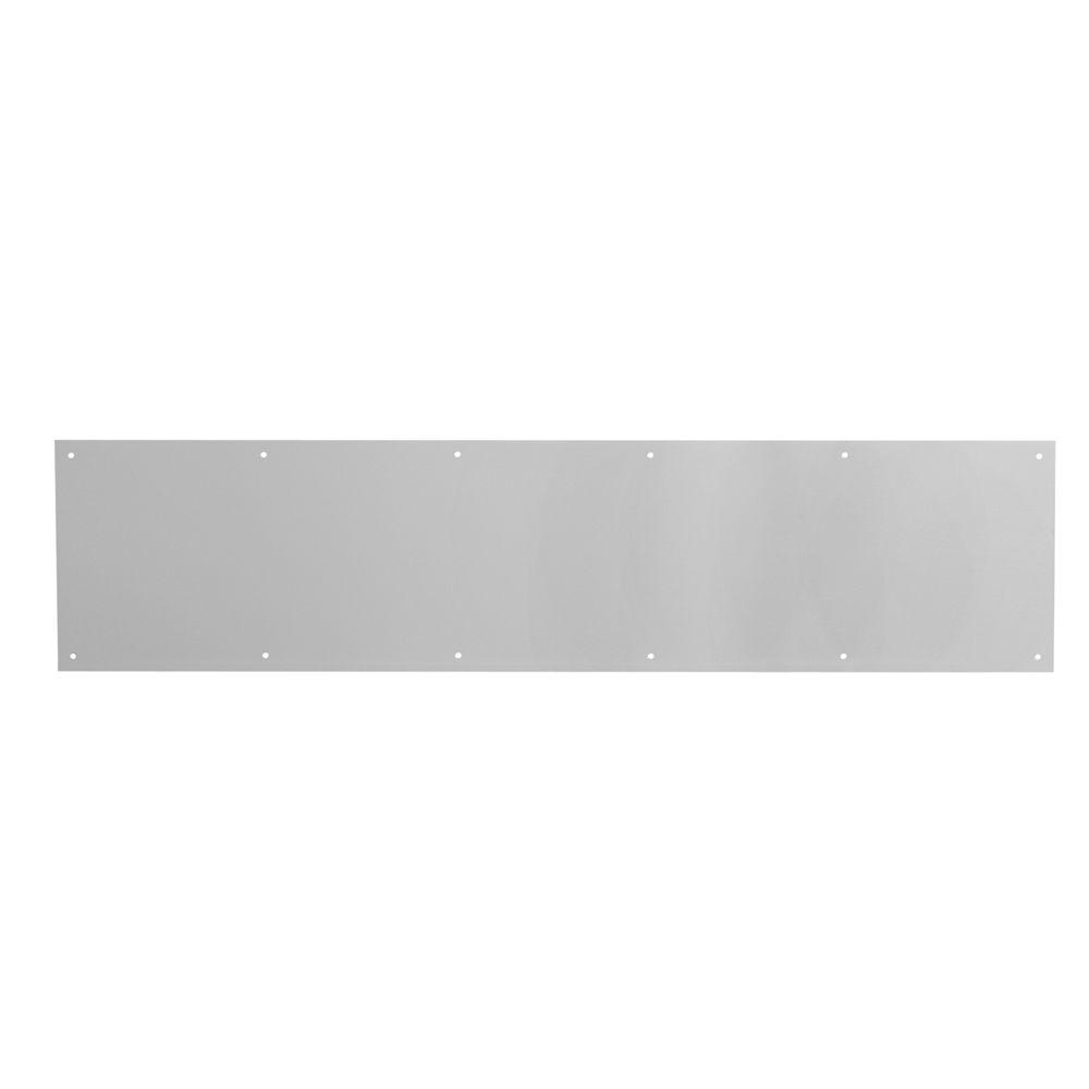 Prime-Line 1Ea 8 in. x 36 in. Satin Aluminum Kickplate-DISCONTINUED