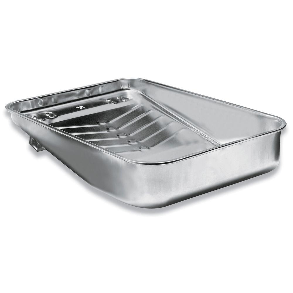 Wooster 13 in. Metal Hefty Deep Well Roller Tray-00R4050130 - The