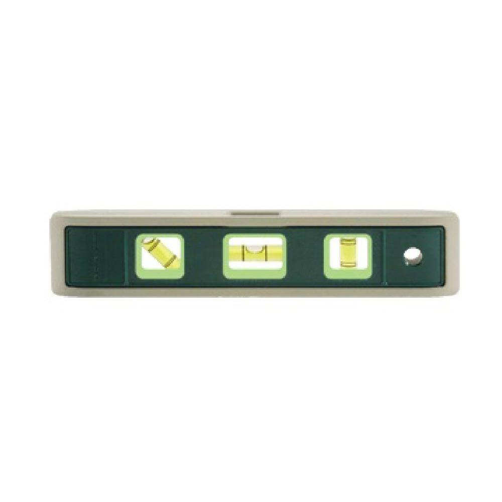 Johnson 9 in. Rare Earth Magnetic Torpedo Level