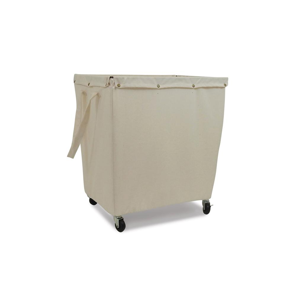 Commercial Canvas Hamper with Casters