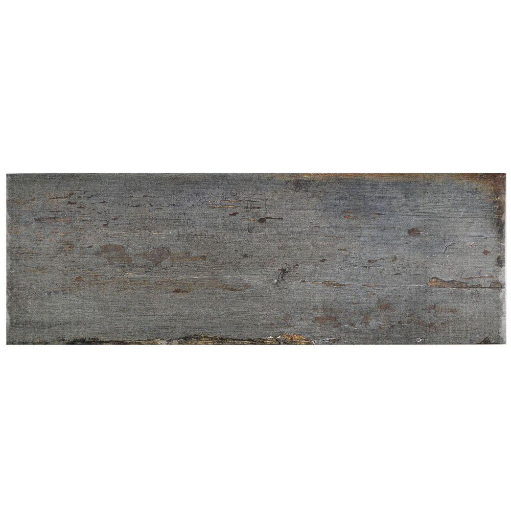 Retro Cendra 8-1/4 in. x 23-1/2 in. Porcelain Floor and Wall