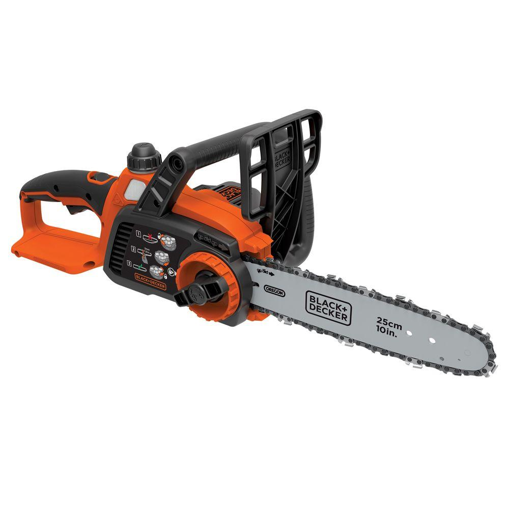 10 in. 20-Volt MAX Lithium-Ion Cordless Chainsaw - Battery and Charger