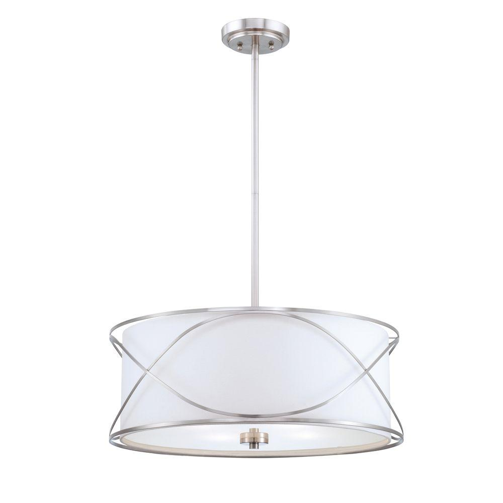 Eurofase Solo Collection 4-Light Burnished Nickel Pendant