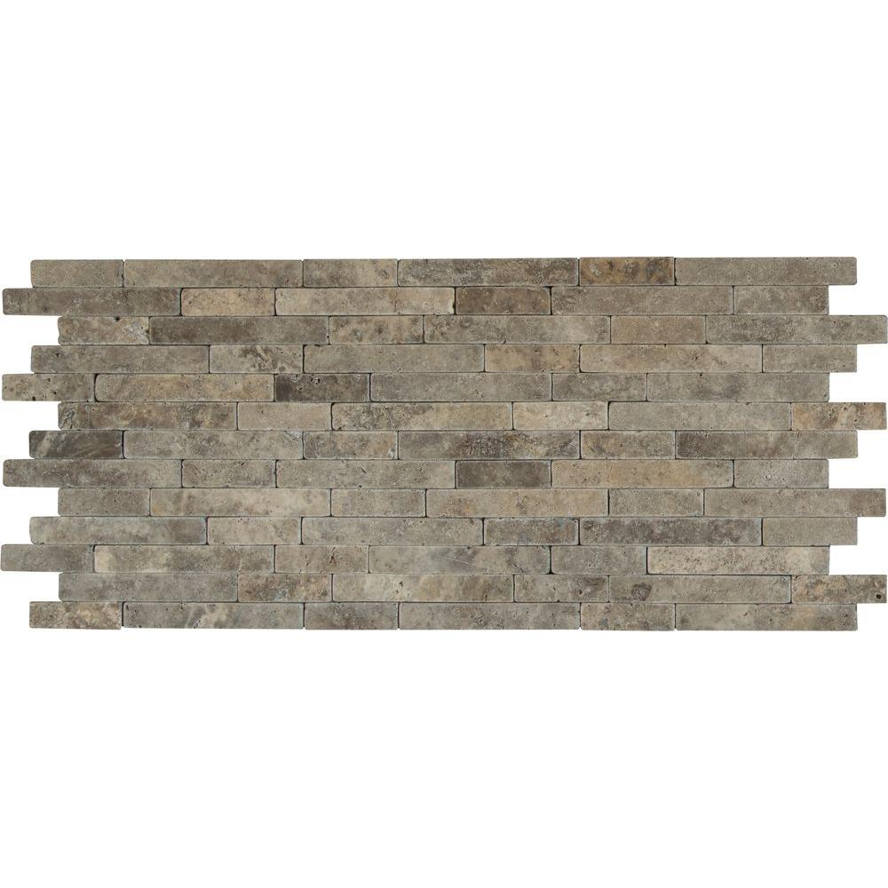 Ms international silver ash veneer 8 in x 18 in x 10 mm for 10 x 18 square feet