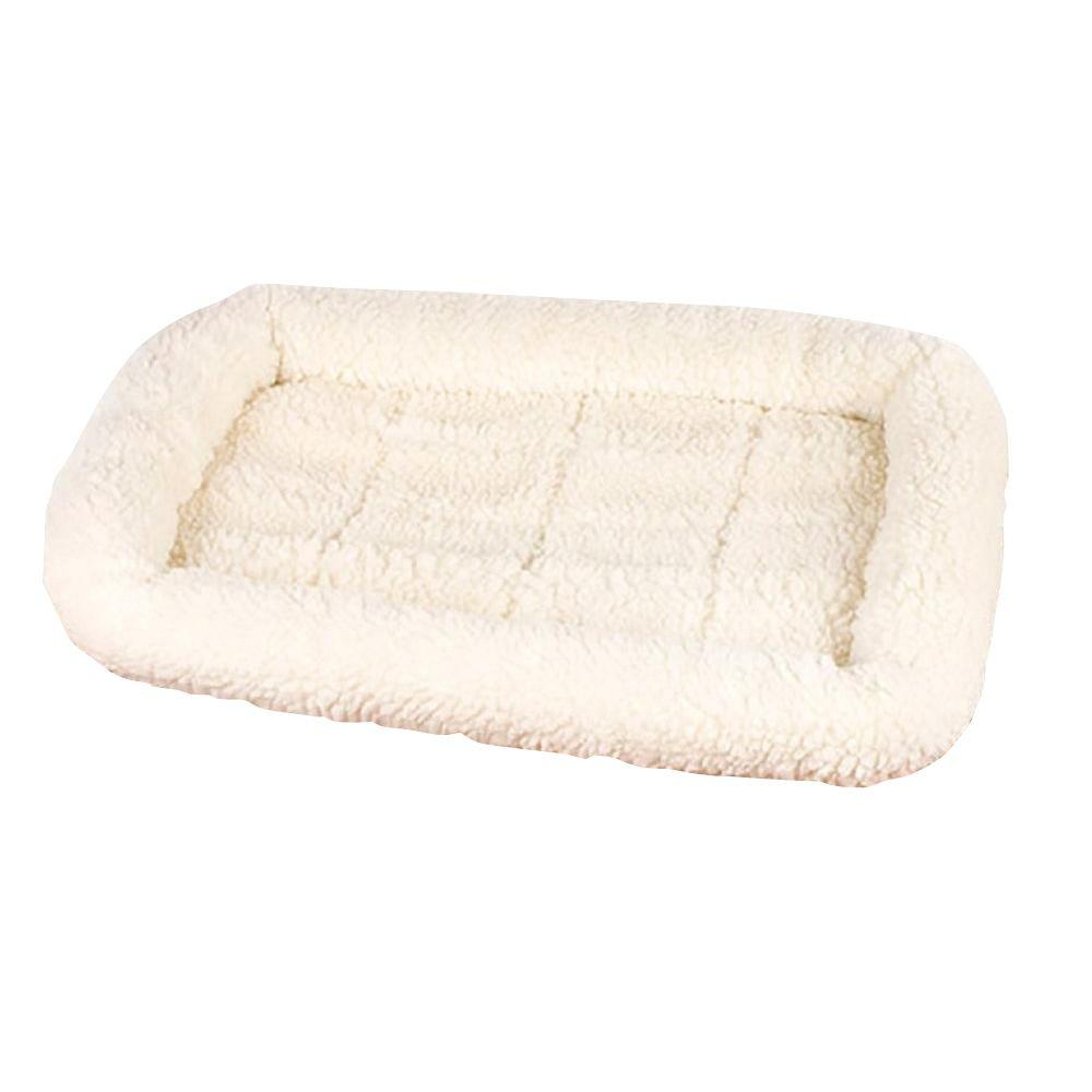 PetSelect 35.5 in. x 22.5 in. Natural Medium Crate Pad-DISCONTINUED