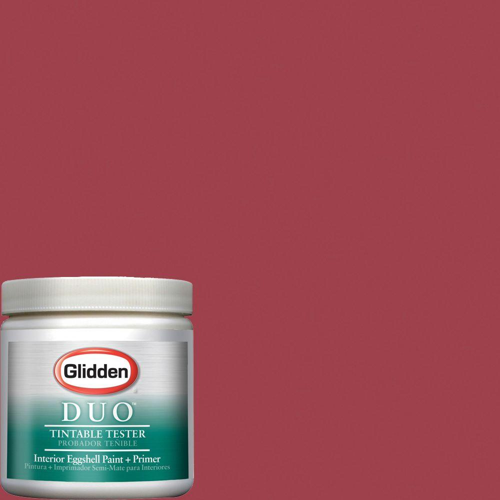 Glidden Team Colors 8-oz. #CFB-101D NCAA Ohio State Scarlet Interior Paint Sample