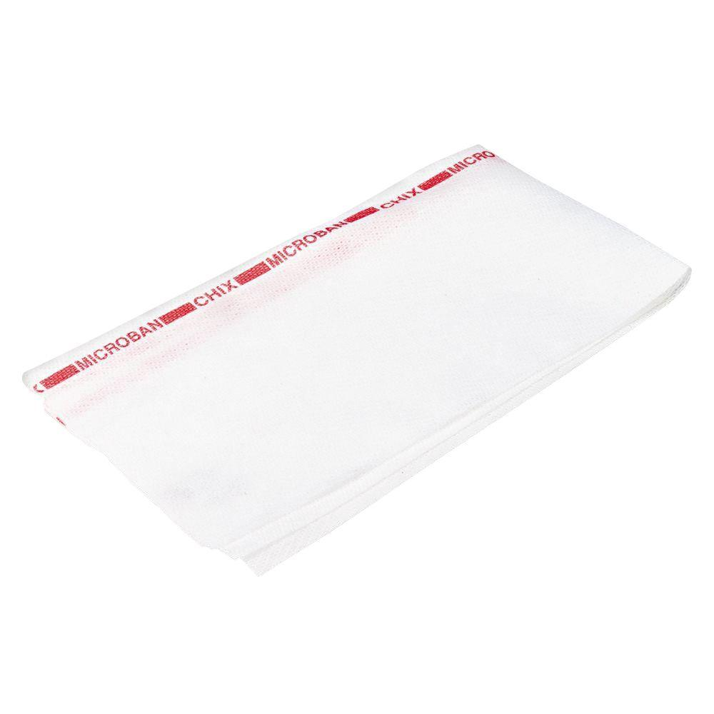 13-1/2 in. x 24 in. White Fabric Reusable Food Service Towels