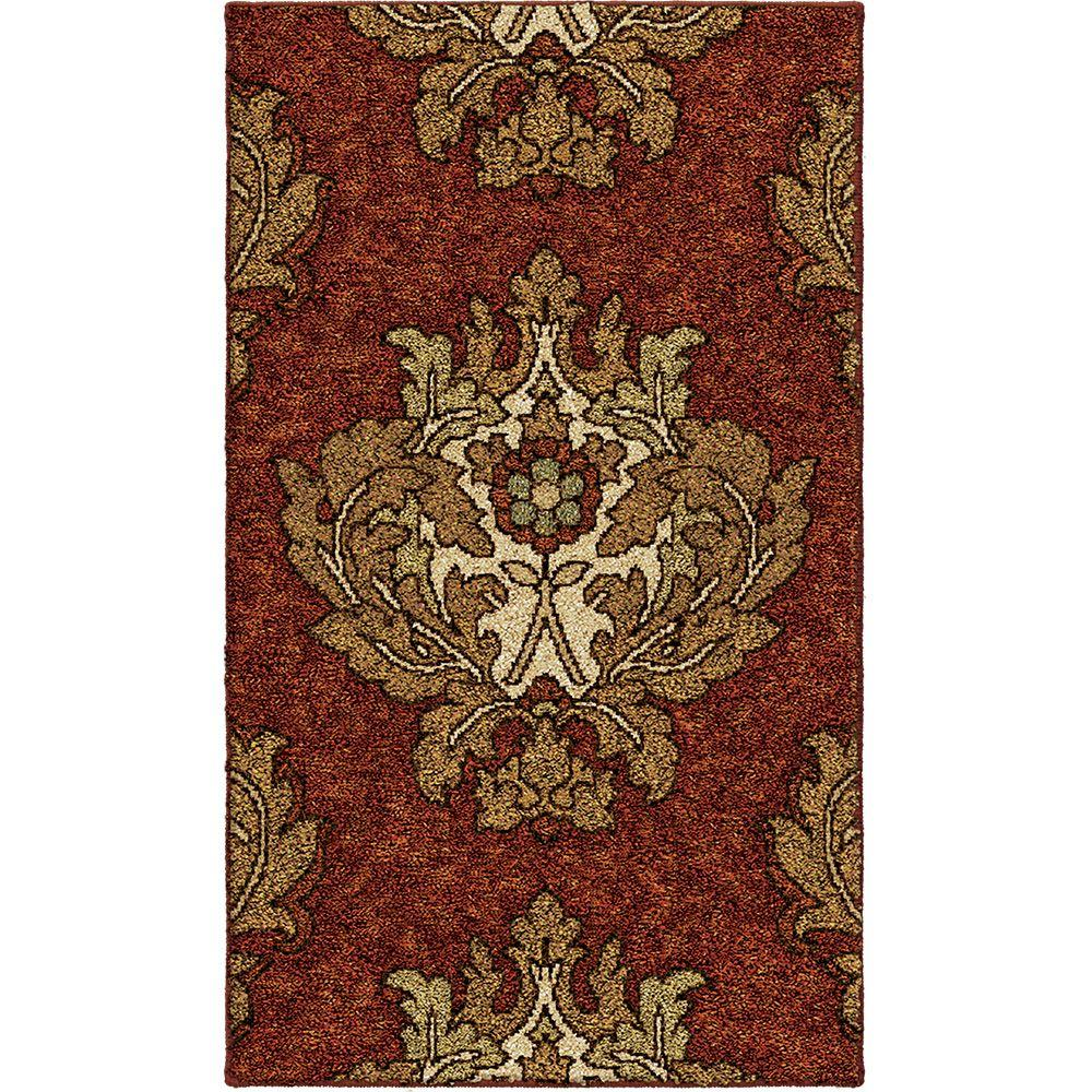 Orian Rugs Harrison Rouge 1 ft. 11 in. x 3 ft. 3 in. Accent Rug