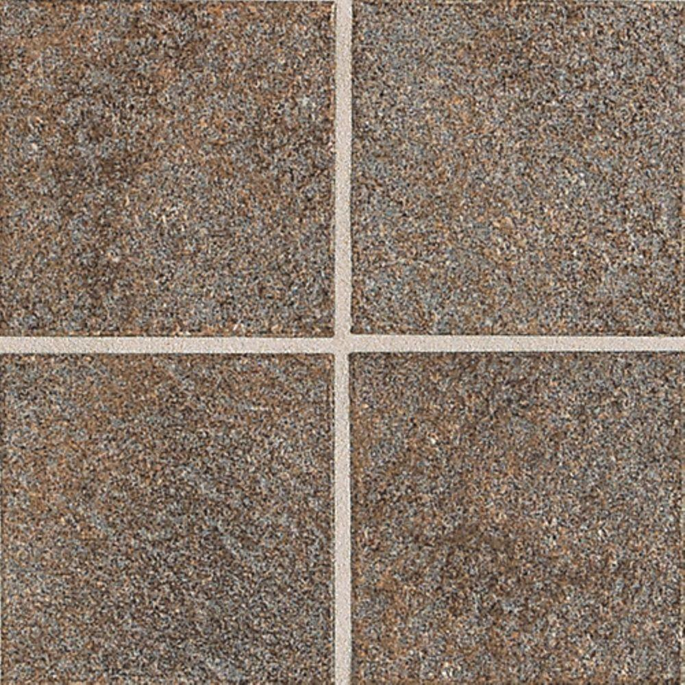Daltile Castanea Porfido 5-1/4 in. x 5-1/4 in. Porcelain Floor and Wall Tile (8.24 sq. ft. / case)