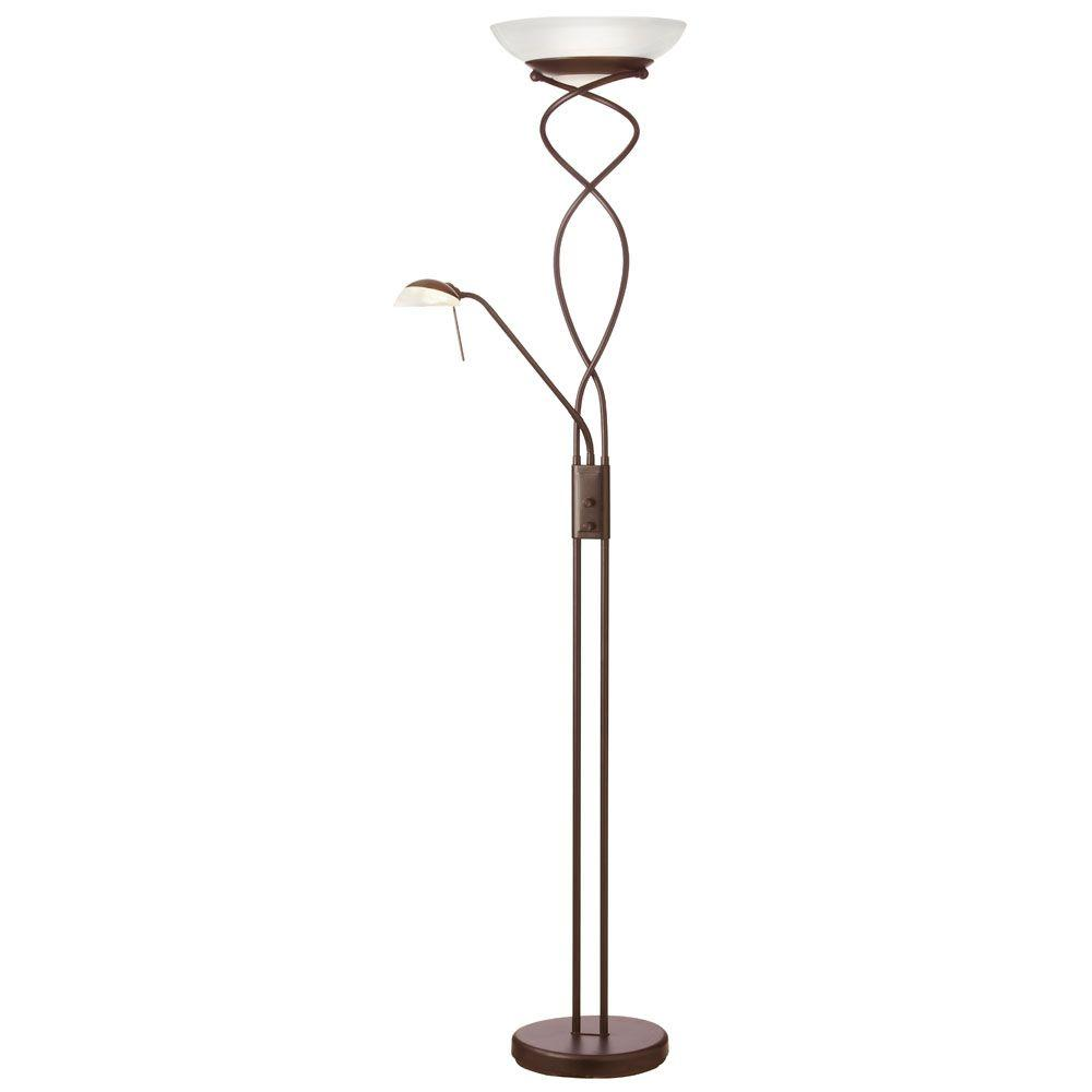 Radionic Hi Tech Lamps Moxley 13 in. Oil Brushed Bronze Floor Lamp FL_DLHA733-OBB_RHT