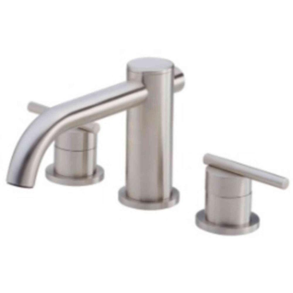 Danze Parma 2-Handle Roman Tub without Personal Spray Trim Only in Brushed Nickel (Valve Not Included)
