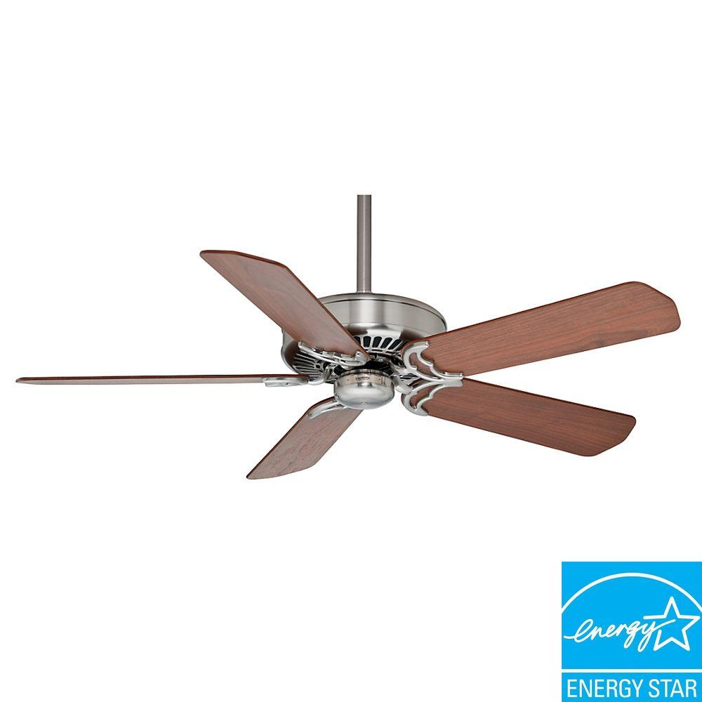 Casablanca Panama DC 54 in. Brushed Nickel Ceiling Fan-DISCONTINUED
