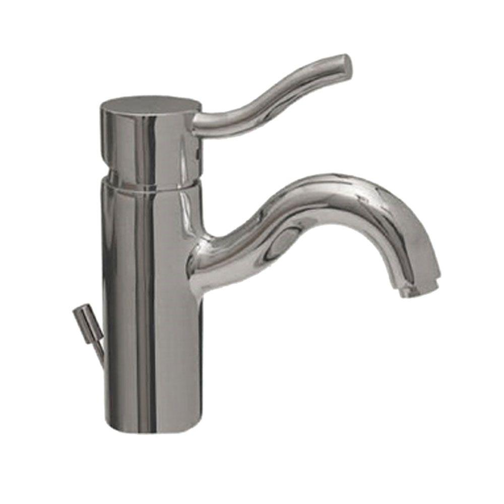 Whitehaus Collection Single Hole 1-Handle Bathroom Faucet in Polished Chrome