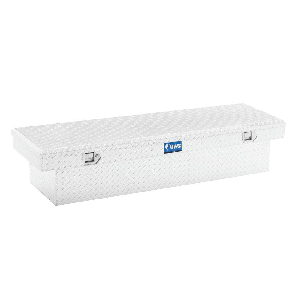 66 in. Aluminum Single Lid Crossover Tool Box