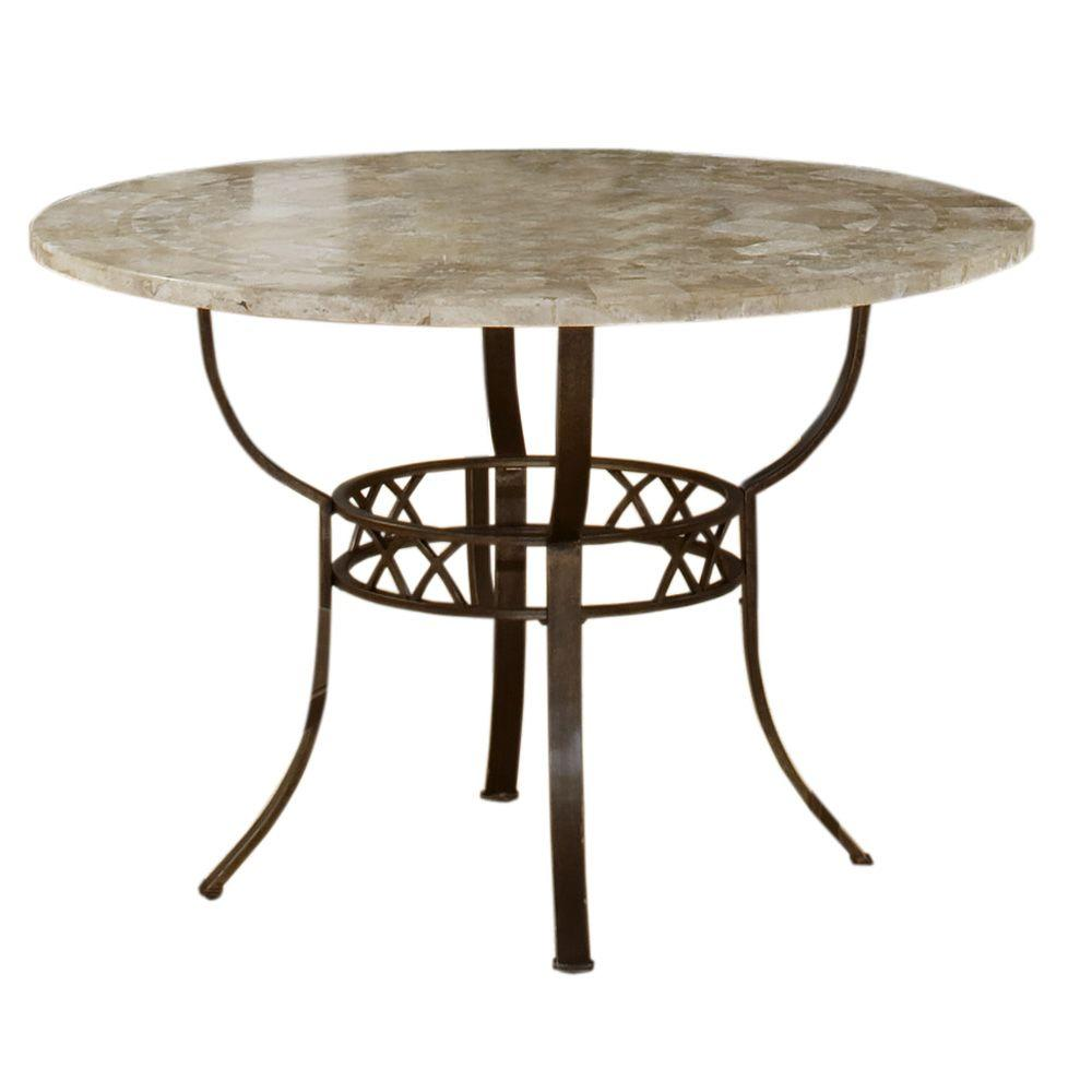 Hillsdale Furniture Brookside Round Dining Table-DISCONTINUED