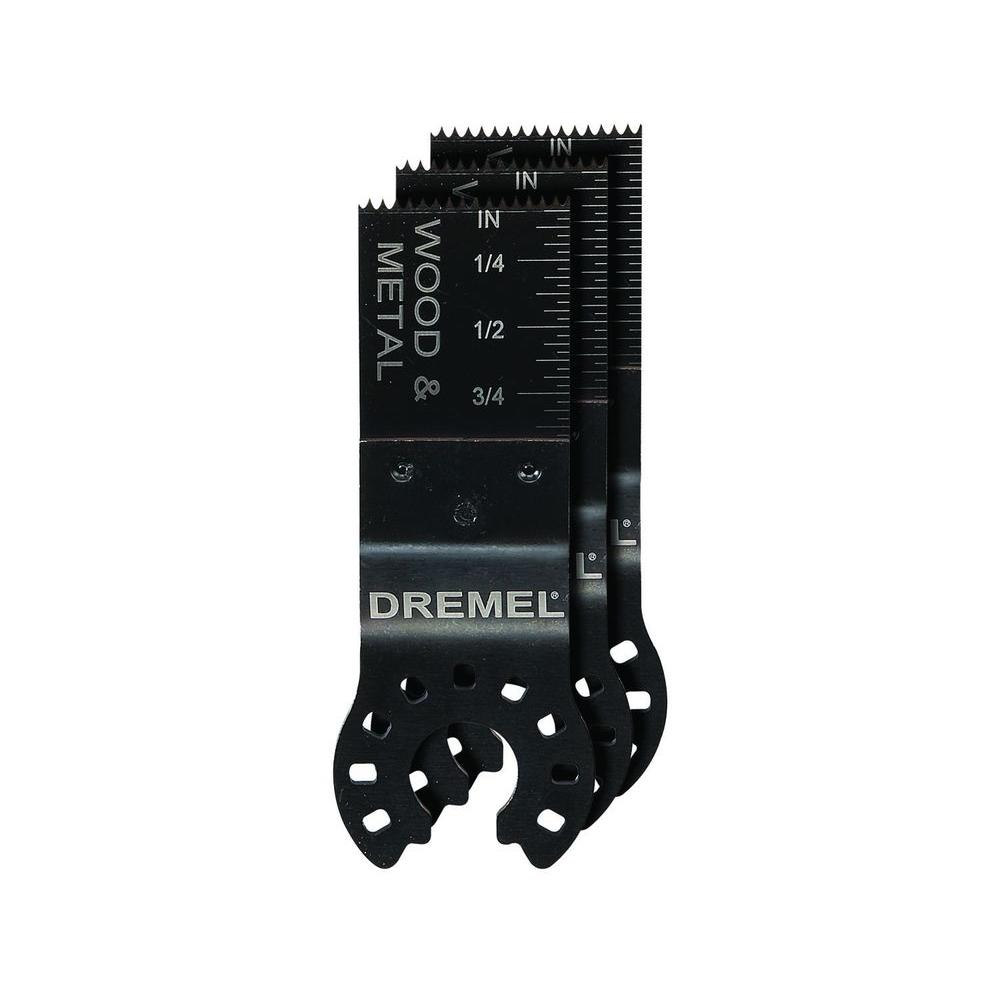 Dremel Multi-Max 3/4 in. Wood and Metal Flush Cut Oscilla...